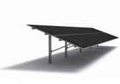 PHOTOVOLTAIC ALUMINIUM STRUCTURES ON ONE POST T-Rack System 3.0
