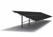 Aluminium photovoltaische Struktur auf einer Stange T-Rack System 3.0